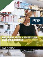 Dos en uno Excel y Access 2016 para Principiantes.pdf