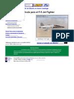 21 Válvula de Crossble Para El F-5 Jet Fighter.en.Es