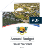 FY2020 Tentative Budget - City of Marco Island