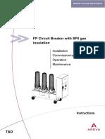 circuit breaker SF6 areva