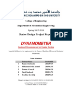 Design Dynamometer Engine Testing