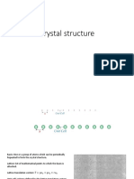 Crystal Structure and Brillouin Zone