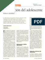 Nutrición para Adolescentes