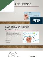 Cultura Del Servicio Al Cliente