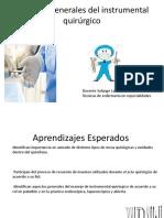 Aspectos Generales Del Instrumental Quirúrgico