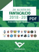 Guida Asta Fantacalcio Calciodangolo 2018 2019 1