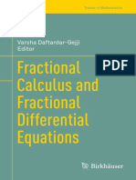 (Trends in Mathematics) Daftardar-Gejji, Varsha (Ed.) - Fractional Calculus and Fractional Differential Equations-Springer International Publishing (2019)