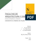Diagnóstico Urbano Paiján