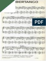 Piazzolla - Libertango - Piano Sheet Music