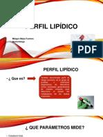 Perfil Lipídico DIAPOSITIVAS