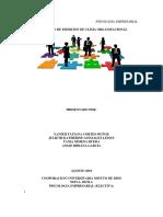 Mecanismo Del Clima Organizacional