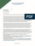 Letter to Mayor de Blasio