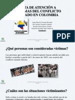 Ruta de Atención a Victimas Del Conflicto Armado