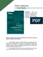 Estudo Dirigido Direito Constitucional