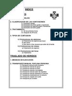TRANSPORTE DE HERIDOS