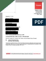 Kinnarath/PPC Notice of Intent