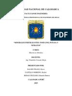 Fosfatos, Nitratos y Potasas Grupo 5