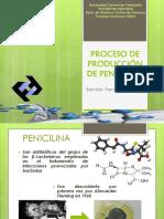 Proceso de Producción de Penicilina