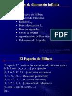Espacios L2Fina Hilbertl