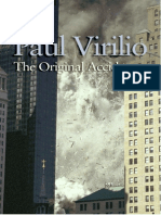 Paul Virilio the Original Accident