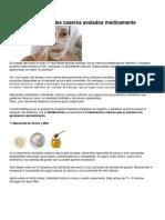 6 Tratamientos Faciales Caseros Avalados Médicamente