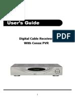 PVR C100 Manual
