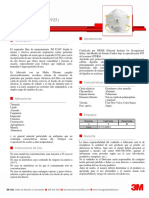 3M Protección Respiratoria Desechable - 8210V