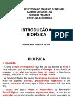 Introdução a Biofísica