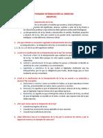 Cuestionario Introducción Al Derecho, Grupo #1