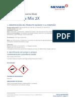 4. Hoja de Seguridad Msds Aga Mix 2x
