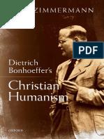Dietrich Bonhoeffer's Christian - Jens Zimmermann.pdf
