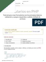 FORMULARIO PHP