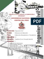 Materiales Elastoplasticos y Viscoplasticos