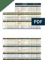 Horario PREGRADO AEMD Semestral 2019-2