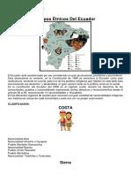 Grupos Étnicos Del Ecuador