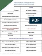 Calendrier Qualification CNU 2020