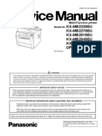 DP-MB310JT_Service Manual + Part List
