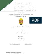 TAREA INDIVIDUAL 1 Fiabilidad, Distribuciones de Frecuencia y Normalidad Gladys Alvarez