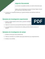 10 ejemplos de Investigación Documental.docx
