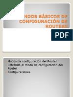Comandos Básicos de Configuración de Routers