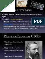 jim crow laws   organizations
