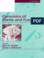 Genomics of Plants and Fungi - Prade and Bohnert