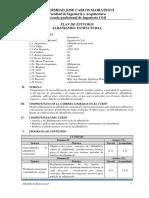 SILABO ALBAÑILERIA ESTRUCTURAL