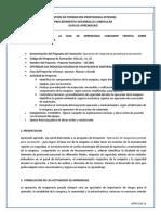 GFPI-F-019 Guía de Aprendizaje Cargador Frontal - Retrocargadora