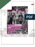 """Lista """"B"""" - Programa de Trabajo, Elecciones FeUCN 2010"""