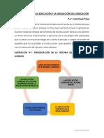 La educacion en la historia y legislacion en Bolivia  Carla Rojas Perez