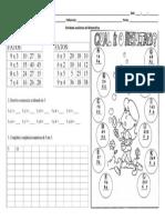 Atividade Avaliativa de Matemática 2T
