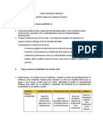 Instrucciones de Trabajo de Grupo Gde 2012-1