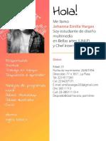 Nuevo CV Johanna Vargas