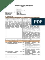 RPP Foof and Baverage Kelas 12 Smk Kurikulum 2013 Revisi 2018